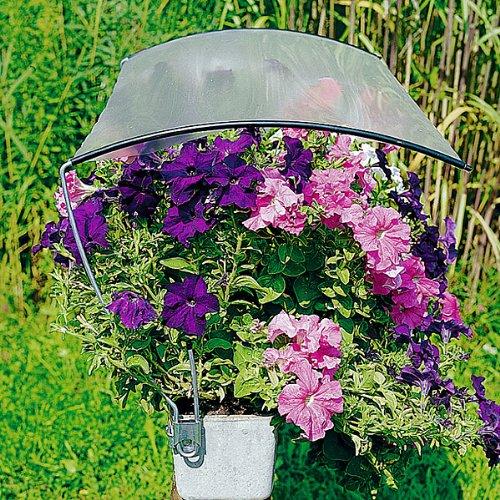Beckmann Blumenkasten Regenschutz mit Folie