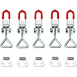 Trunk 100KG//220lbs Holding Capacity S Size Keleily Toggle Latch Catch 8Pcs Toggle Clamp Adjustable Toggle Catch Heavy Duty for Door Cabinet Box