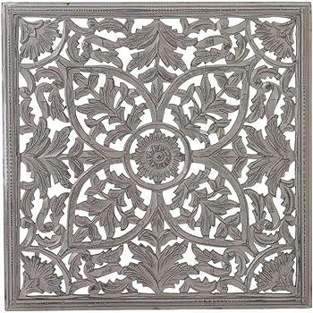 pureday miavilla bild thalia holz ornament 3 teilig antik wei k che haushalt. Black Bedroom Furniture Sets. Home Design Ideas