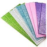 Lot de 10 feuilles de mousse A5 pour le bricolage et la fabrication de cartes, décorations (couleurs assorties)