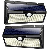 Feob 138 LED Lampe Solaire Extérieur [2500mAH Puissante Lumière ] Détecteur de Movement led éclairage Extérieur Solaire…