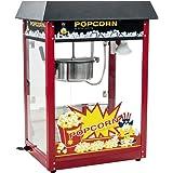 Royal Catering Machine À Popcorn Professionnelle RCPS-16E (1600 W, 5 Kg/Heure, 16 l/h, Marmite ø18,5 cm, Revêtement Téflon, R