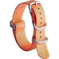 NATO Zulu Watch Strap Thick G10 Premium Ballistic Nylon cinturini per orologi da uomo 18mm 19mm 20mm 21mm 22mm 23mm 24mm…