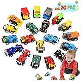 ATOPDREAM Pack de 20 Vehículos de Juguete para Niños - Regalos para Niños - Coche de Friccion
