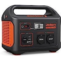 Jackery Tragbare Powerstation Explorer 1000 - 1002 Wh AKKU Solar Generator & Mobiler Stromspeicher mit 230V Steckdose…