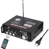 Docooler 600W Amplificatore Audio,HiFi Audio Stereo Bluetooth Radio Portatile per Auto o Casa, con Telecomando ed Mini…
