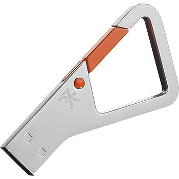 PKparis K'lip Clé USB 3.0 32 Go Argent/Orange