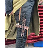 Leather Magic Wand Garter Holster, for hang your wand from your belt and leg, available in many colors