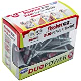 Fischer 536392- Taco Duopower 10X50 T, caja brico con 10 unidades