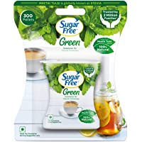 Sugar Free Green 100% Natural Sweetener and Sugar Substitute - 300 Pellets