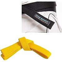 Ceinture Karate Belt Aikido Karate – gi 100 % coton 3,5 mm Couleurs variées