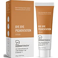 DERMATOUCH Bye Bye Pigmentation Cream for Pigmentation Removal Cream || Anti Pigmentation Cream for Women/Men with Lime…