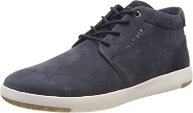 Tommy Hilfiger Herren Light Nubuck Lace Up Boot Hohe Sneaker
