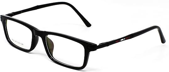 Fusine Full Rim Unisex Spectacle Frames for Kid's(Jet Black|PM-123-3)