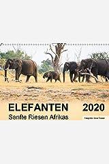 Elefanten - Sanfte Riesen Afrikas (Wandkalender 2020 DIN A3 quer): Begegnungen in Botswana. (Monatskalender, 14 Seiten ) (CALVENDO Tiere) Kalender