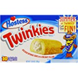 Hostess Twinkies 385 g (Pack of 1, Total 10 Cakes)