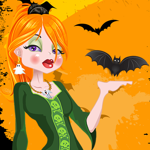 Dress Up Halloween-Mädchen (Halloween Kostüme Up Make Nur)