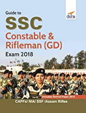 Guide to SSC Constable & Rifleman (GD) Exam 2018