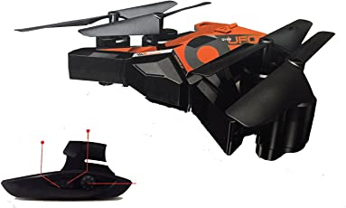 Munchkin Land Foldable Drone with Gesture Control - 6 Axis Gyro RC Headless Quadcopter - No Camera - Mixed Colours