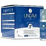 LINEAVI Sport | Nahrungsergänzungsmittel mit Vitaminen, Mineralstoffen und L-Carnitin | unterstützt den Zellschutz und das Elektrolytgleichgewicht | in Deutschland hergestellt | 30 Trinkampullen