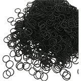Hair Bands Elastic Headbands 500pcs Mini Hair Rubber Bands Soft Elastic BandsTies Bands for Kids Hair Bands, Braids Hair…