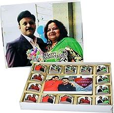 Chocoworld Customised Chocolate Gift Pack - 220gm | Handmade Chocolates with Personalised Message for Rakhi Gift/Birthday / Anniversary/Friendship Day