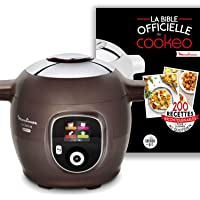 Moulinex Multicuiseur Intelligent Cookeo + Gourmet 6L 150 Recettes préprogrammées + Moule à Gâteaux Inclus CE852900…