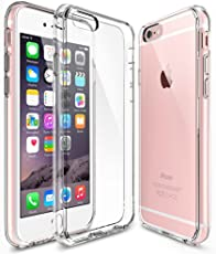 Sintron iPhone 6/6S Klar Hülle - Durchsichtig Klar Hülle Weich Leicht Schutzhülle, Clear Case Ultra Slim Crystal Fully Transparent, Shock Absorption, Flexible Durable, Scratch and Smudge Resistant, TPU Environmental Protection Material, für iPhone 6/6S, 24-Hour Customer Support, 30-Day Money Back Guaranteed