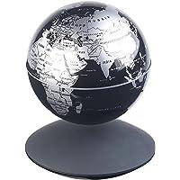 infactory Schwebeglobus: Freischwebender Globus mit beleuchteter Magnet-Schwebebasis, Ø 14 cm (magnetisch Schwebender…