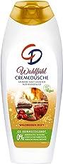 CD Wohlfühcremedusche mit Waldbeerenduft/Veganes Duschgel geeignet für empfindliche Haut, 6er Pack (6 x 6 Stück)