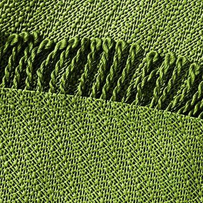 casa pura® Tischdecke Wonderland für Garten und Balkon | Weichschaum mit Fransen | rund 140 cm | pflegeleicht und wetterfest | in 3 Farben von casa pura - Gartenmöbel von Du und Dein Garten
