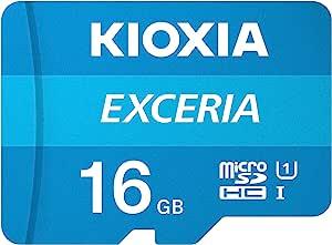 Sd Microsd Card 16gb Kioxia Exceria Computers Accessories