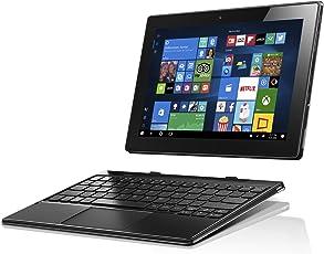 Lenovo Miix 310 25,4 cm (10,1 Zoll Full HD) Tablet-PC (Intel Atom Z8350, 4GB RAM, 64GB eMMC, Windows 10 Home) Silber