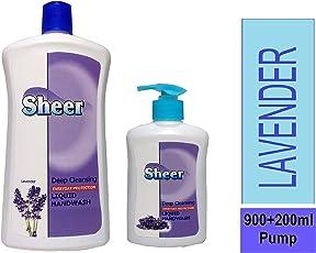 Handwash 900ml Refill Pack (LAVENDER) +200ml Pump Extra