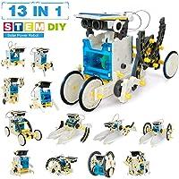 13 en 1 Robot Jouet Enfant 203 PièCes - Robot Solaire - Kit Robot A Construire De Jeux De Construction Enfant - Stem…