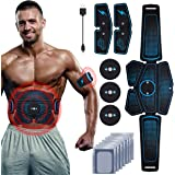 RIRGI Koiteck Elettrostimolatore per Addominali, Elettrostimolatore Muscolare Professionale per Braccio/Gambe/Glutei, EMS con