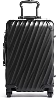 TUMI - 19 Degree International Carry-On Luggage - Hardside Luggage for Men and Women - Matte Black
