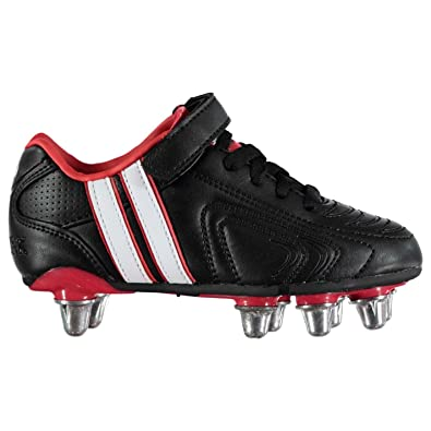 a748ae1c5b1 Patrick Kids Power X Childrens Rugby Boots Boys Sports New Youth Shoes  Junior  Amazon.co.uk  Shoes   Bags