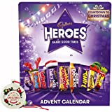 cadbury Heroes Chocolate Advent Calendar, 230 g