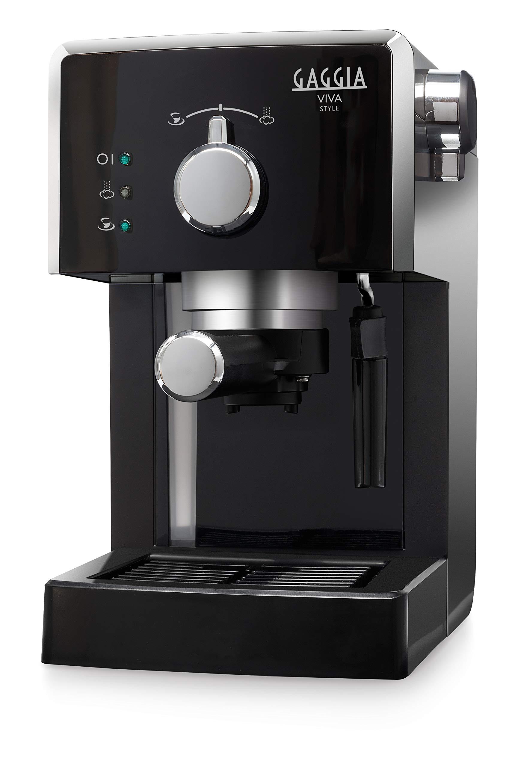 Gaggia Viva Style Macchina da Caffè Espresso Manuale, per Macinato e Cialde, RI8433/11 1 spesavip