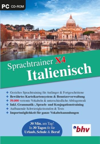 Sprachtrainer X4 Italienisch