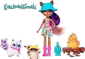 Enchantimals - Mattel Fjj29 Rakunlar Piknikte Oyun Seti