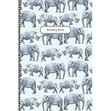 Birthday Book: A Birthday Reminder and Date Keeper Desk Journal Organizer to Remember Important Days – Wild Animals…