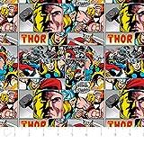 Fat Quarter Marvel Comics Thor Baumwolle Quilten Stoff