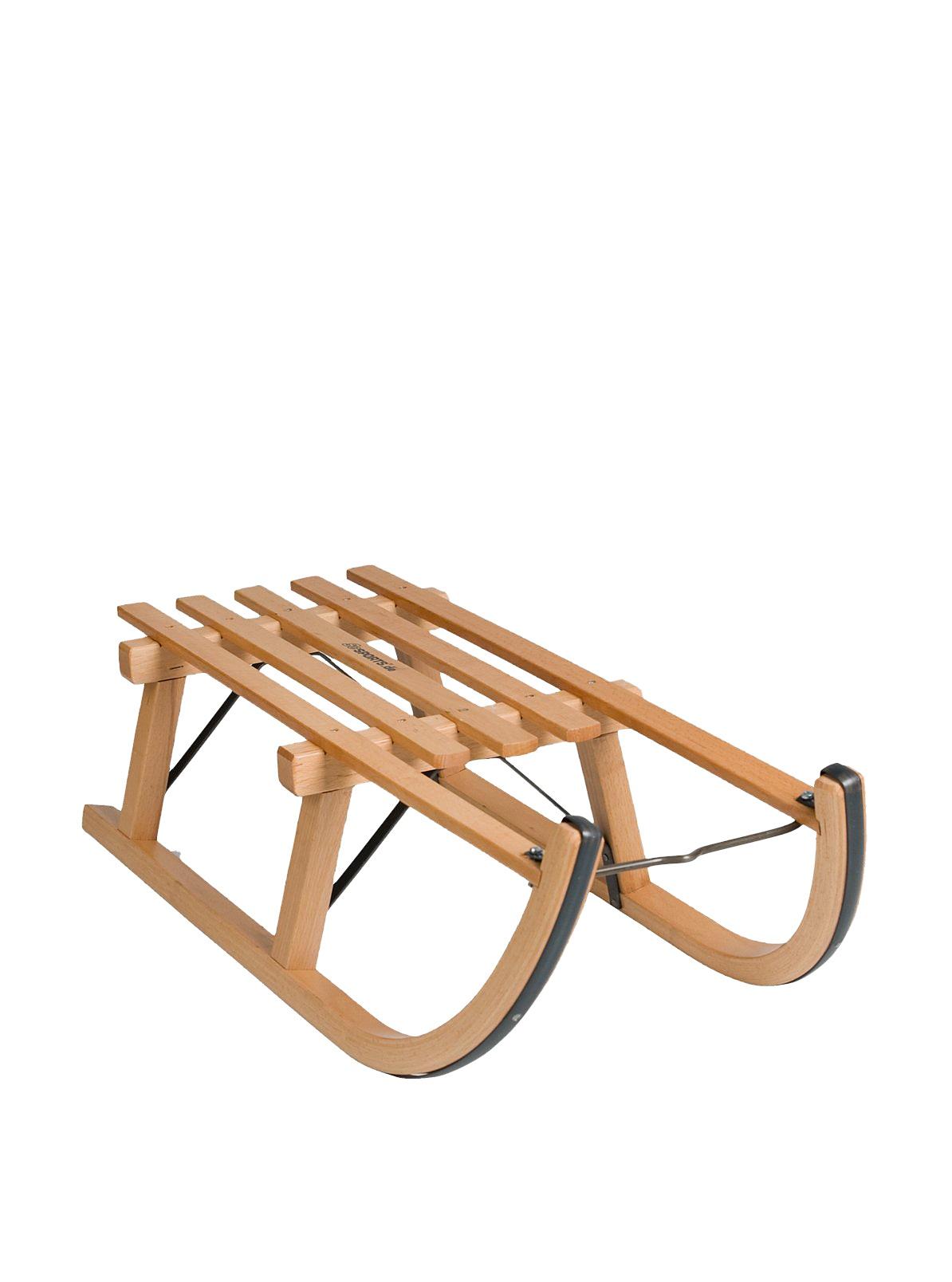 ScSPORTS Davoser Holzschlitten, holz, 80 cm, 10000938