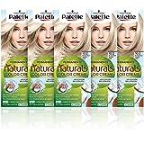 Schwarzkopf Palette Naturals - Tinte 10.2 cabello Rubio Muy Claro Frío - Coloración Permanente – Perfecta cobertura de canas