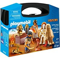 Playmobil 9542 History Egyptian Treasure Valise de Transport