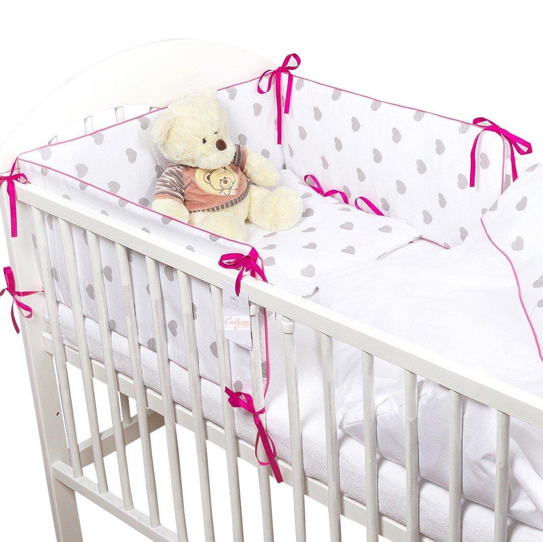 callyna®–Set 3pcs biancheria letto evolutivo per neonato 140x 70cm: Torre di letto, copripiumi