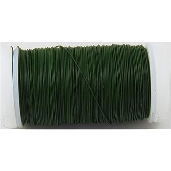 0,01€//m Myrtendraht grün 0,35mm 1-100 Rollen Wickeldraht Bindedraht Draht
