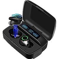 Moosen Bluetooth Kopfhörer In Ear Kabellos Bluetooth 5.0 Kopfhörer 156H Playtime Deep Bass Hi-Fi Stereo Sound Wireless…